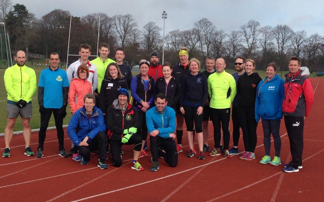 Half and Marathon workshop with Paul Evans